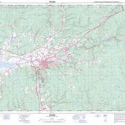 Pictou County Maps – Topographic Map 011E06 (Truro)