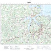 Pictou County Maps – Topographic Map 011E10 (NewGlasgow)