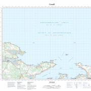 Pictou County Maps – Topographic Map 011E14 (Malagash)