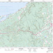 Pictou County Maps – Topographic Map 011e09 (Merigomish)