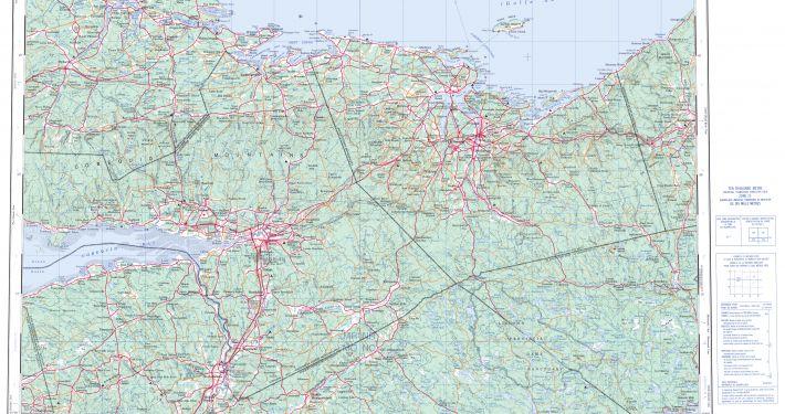 Topographic Map 011E