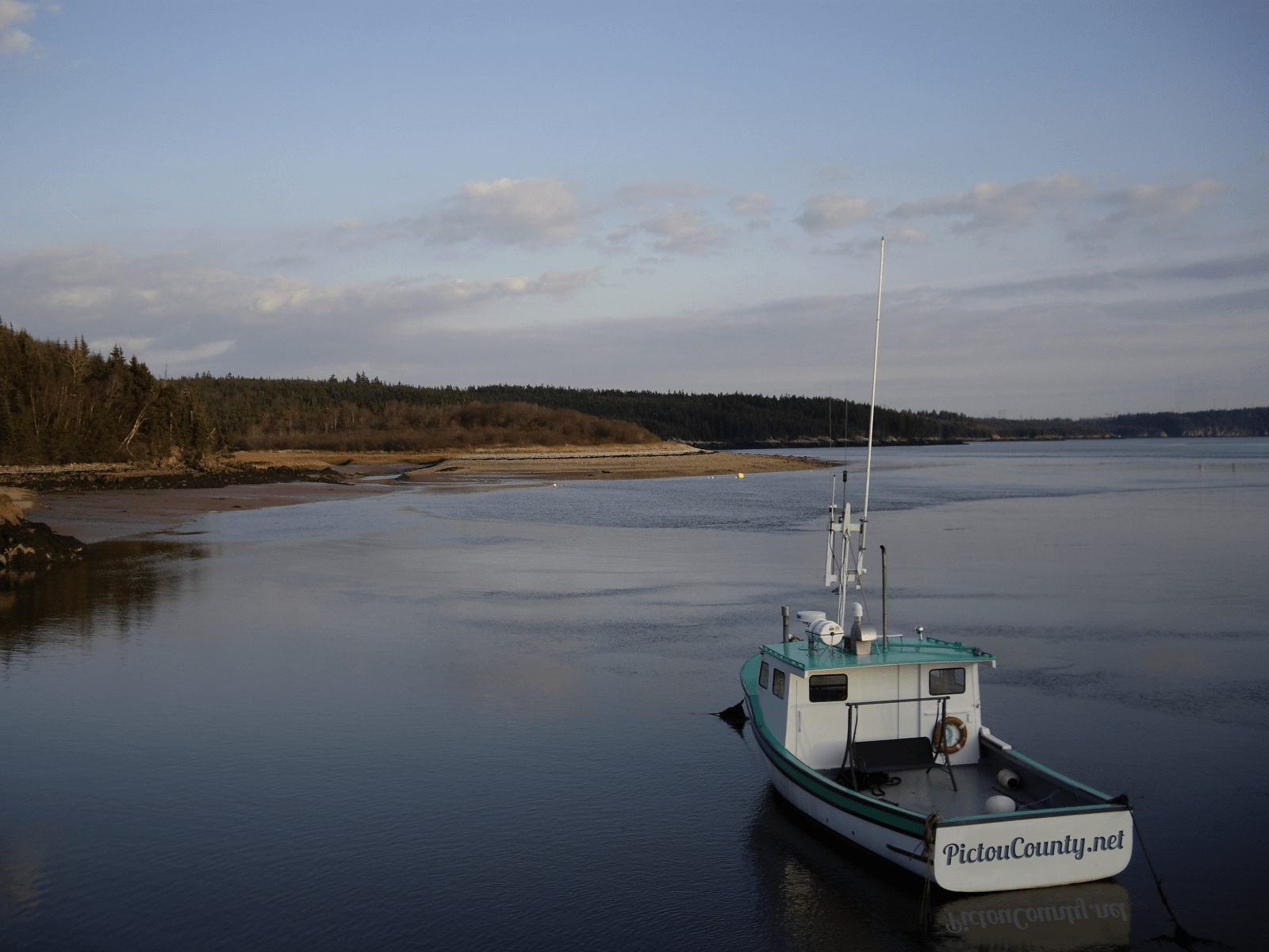 Pictou County Fishing Boat