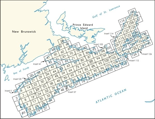 Nova Scotia Crown Land Grant Map Index
