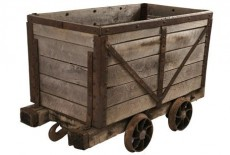 Pictou County coal cart