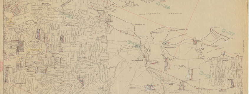 Pictou County Crown Land Grant Maps