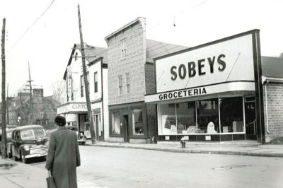 Pictou County Historical Photos - Sobeys Store 1950