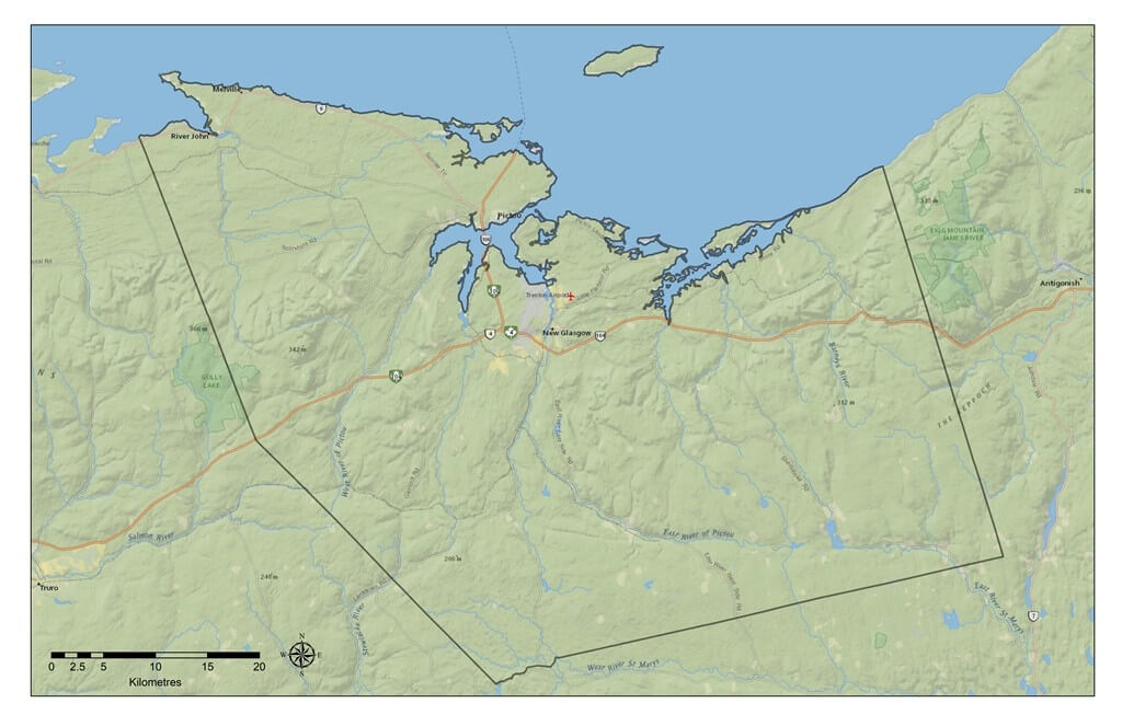 Pictou County Maps